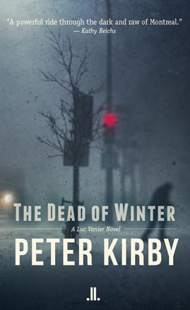Dead of Winter crime novel by Peter Kirby