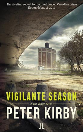 Vigilante Season crime fiction novel by Peter Kirby