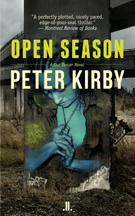 Open Season crime novel by Peter Kirby